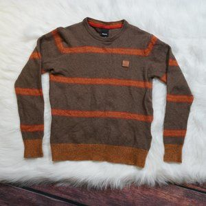 Bench Wool Stripped Pullover Sweater
